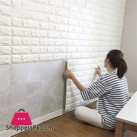 We have acrylic three dimensional wall stickers that look beautiful on an empty wall. Buy Pvc 3D Foam Brick Wall Panel 77 x 70 CM 1 - Pcs at ...