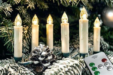 led kabellos intnet bet kabellose baumkerzen kabelloses christbaumkerzen set