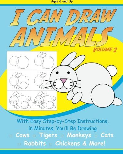 draw animals  step  step drawing read