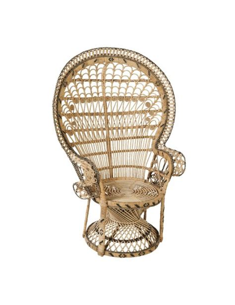 fauteuil emmanuelle en rotin motif pomare fauteuil rotin kok maison