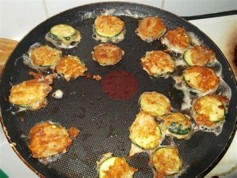 cuisiner mange tout courgettes en rondelles en beignet trucs bidules