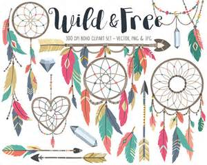 Tribal Feather Dream Catcher Clip Art