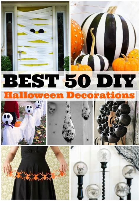 Best 50 Diy Halloween Decorations  A Dash Of Sanity