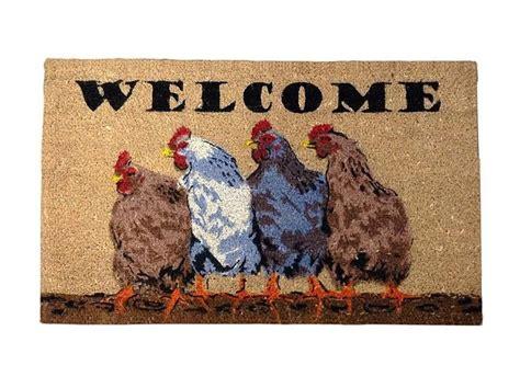 chicken doormat 157 best images about quot heeere chook chook chook quot on