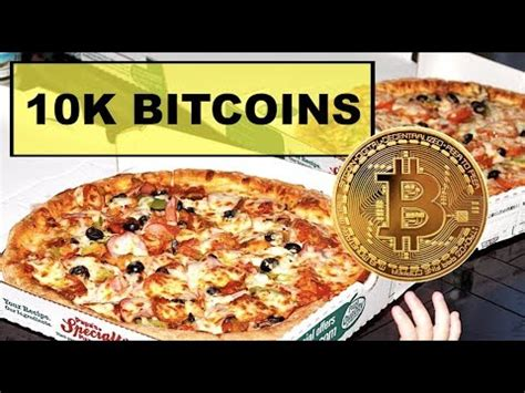 Laszlo hanyecz (laszlo) is a programmer from florida who made the first documented purchase of a good with bitcoin when he bought two domino's pizzas from jercos for 10,000 btc. Someone Bought 2 Pizzas With 10,000 Bitcoins In 2010 - YouTube