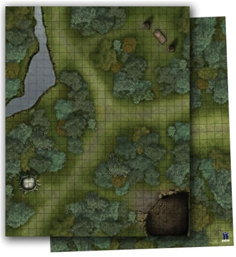 the doormat pdf paizo gamemastery flip mat woodlands