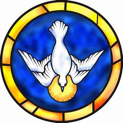 Confirmation Symbols Catholic Holy Clipart Mary Clip