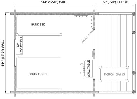one cabin plans one room cabin with loft one room log cabin floor plans