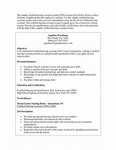 private duty cna resume sample job and resume template With cna resume sample