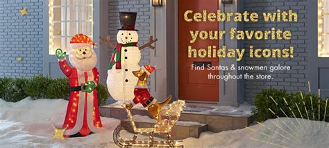 outdoor christmas decorations big lots