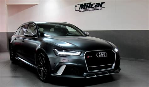 Maybe you would like to learn more about one of these? MILCAR ::: Automotive Consultancy » Audi RS6 AVANT 2016