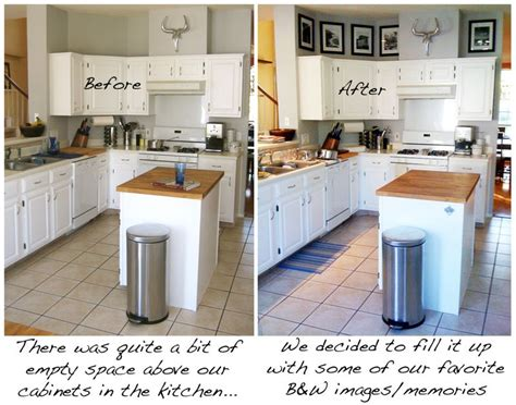 diy kitchen cabinet decorating ideas space above kitchen cabinets ideas best home decoration