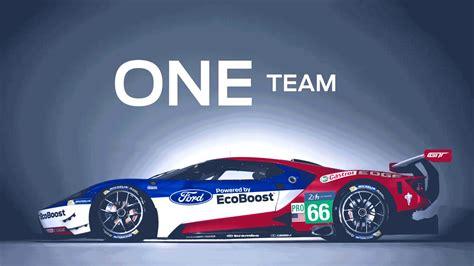 Les Ford Gt Au Mans 2018 Numros 66 67 68 Et 69