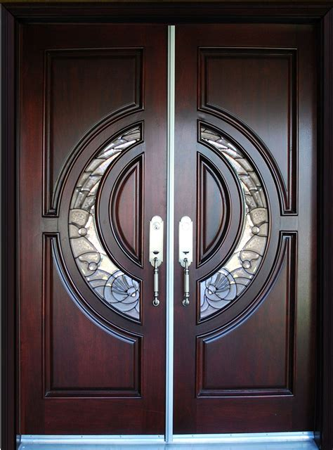Doors For Home by Exterior Front Entry House Wood Door M580e Dbl 36
