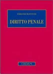 mantovani diritto penale parte generale diritto penale parte generale edizione 5 libro