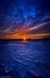Winter Sunset Wisconsin
