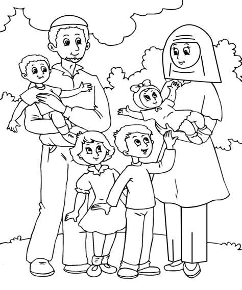 family members worksheets for kindergarten pdf