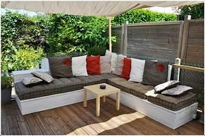 Salon De Jardin Canap D39angle Extrieur En Bois Ides