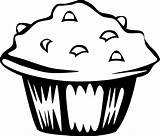 Coloring Cupcake Pages Printable sketch template