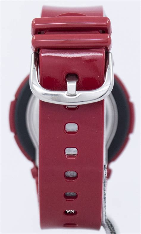 Casio Baby G Bga 180 4bdr casio baby g analog digital bga 160 4bdr womens