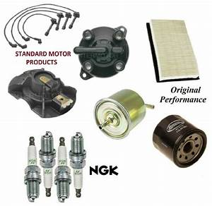 Tune Up Kit Filters Cap Wire Spark Plugs For Mazda Mx
