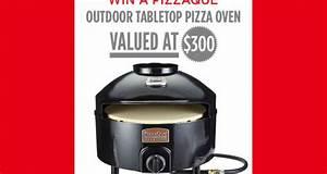 Un four à pizza de table Échantillons gratuits Concours