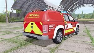Volkswagen Amarok Double Cab Feuerwehr V1 1 Para Farming