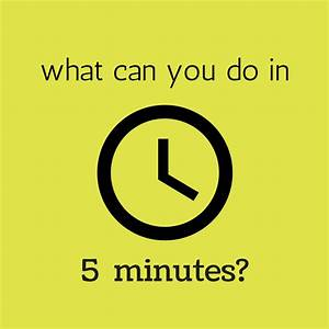 What can you do in 5 minutes? - Splendry