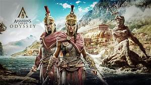 Wallpaper Assassin's Creed: Odyssey, Alexios, Kassandra ...