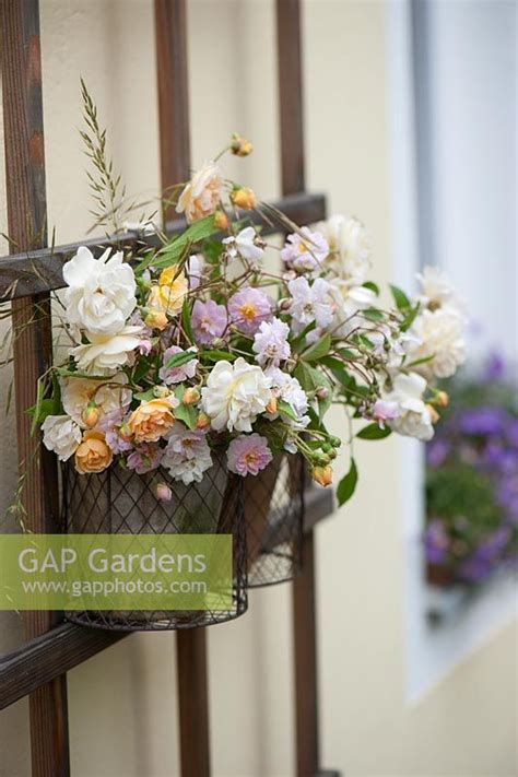wall flower arrangements gap gardens flower arrangements in wall mounted wire 3309