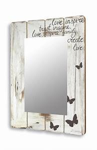 Chic Und Mit : spiegel wandspiegel flurspiegel aus holz vintage shabby chic landhaus 60x80cm ebay ~ Orissabook.com Haus und Dekorationen