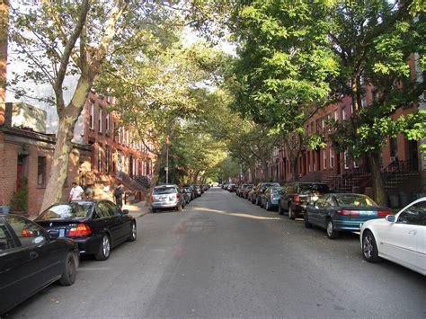 New York Street Carroll Gardens Brooklyn  Streets New York