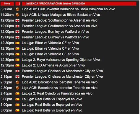 Partidos de Hoy   Tarjeta roja, Partidos en vivo, Real ...