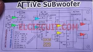 Active Subwoofer Circuit Tl082    Tl072    4558