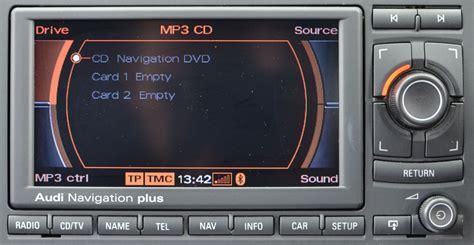 a4 rns e navigation system satnav systems