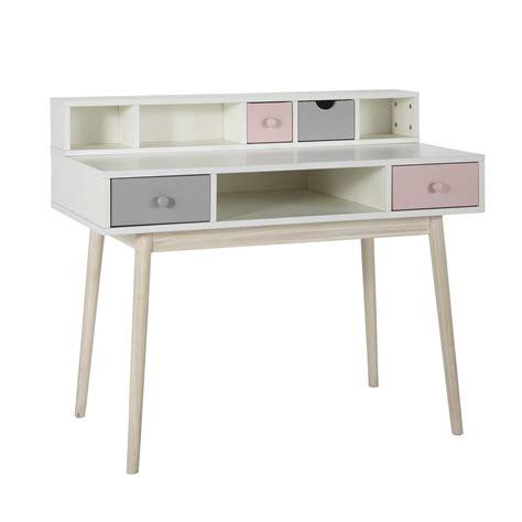 module bureau module de rangement pour bureau blanc l110 blush maison