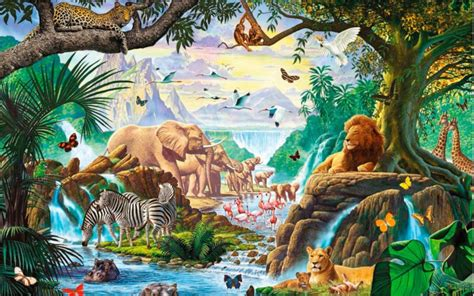 Popular Jungle Animal Fabricbuy Cheap Jungle Animal