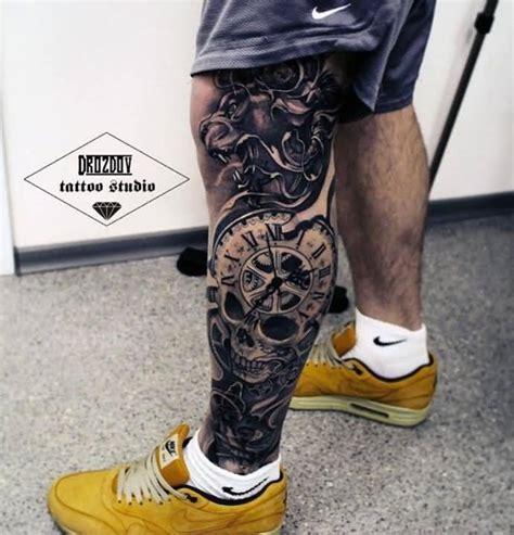 top  latest leg   thigh tattoo ideas