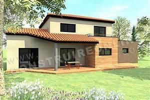 plan de maison moderne cassiopee With voir ma maison en 3d