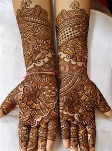 20 Latest Bridal Mehndi Designs for Wedding 2017 - SheIdeas