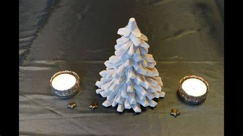 Tannenbaum / Christmas Tree Basteln Aus Eierschachteln