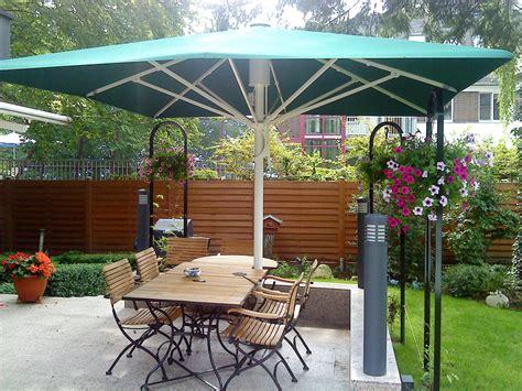sonnenschirm terrasse gross moderner sonnenschirm   die