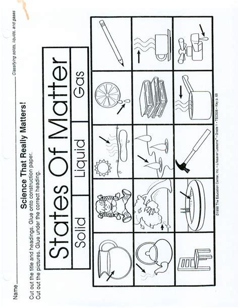 identifying states of solid matter worksheet page 1 states of matter worksheet make a 3 part