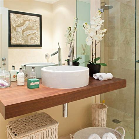 counter decorating ideas 20 bathrooms with wooden countertops Bathroom