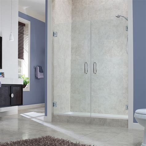 Marina Collection 38″ Frameless French Doors  Foremost Bath