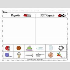 Magnet Sort From Kathy At First Grade A La Carte  Science  Science Games, First Grade Science