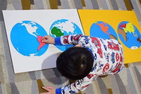 montessori inspired asia continent  preschoolers