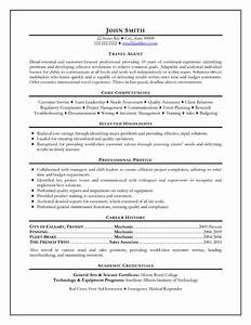 travel agent resume sample template With resume target complaints