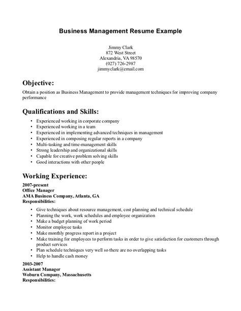 resume of lecturer of management resume exle business management resume ixiplay free resume sles