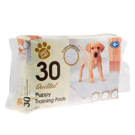 quilted puppy training pads pk   cm pets dogs